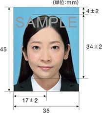 パスポート,写真,証明写真,サイズ,申請用