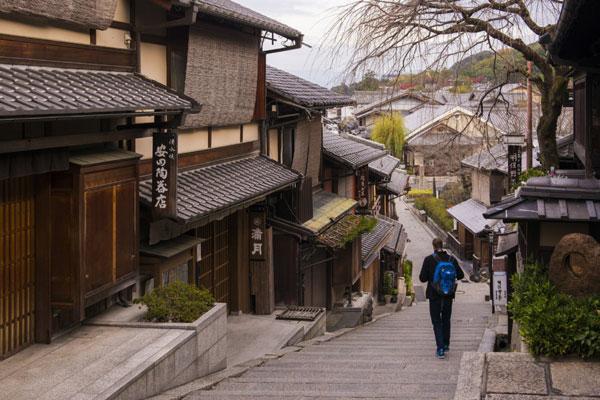 海外旅行,京都,日本